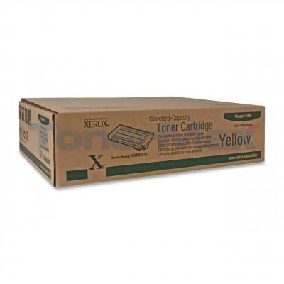 XEROX PHASER 6100 TONER CART YELLOW 2K